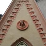 Restauro Tribuna Gotica-particolare lavoro finito