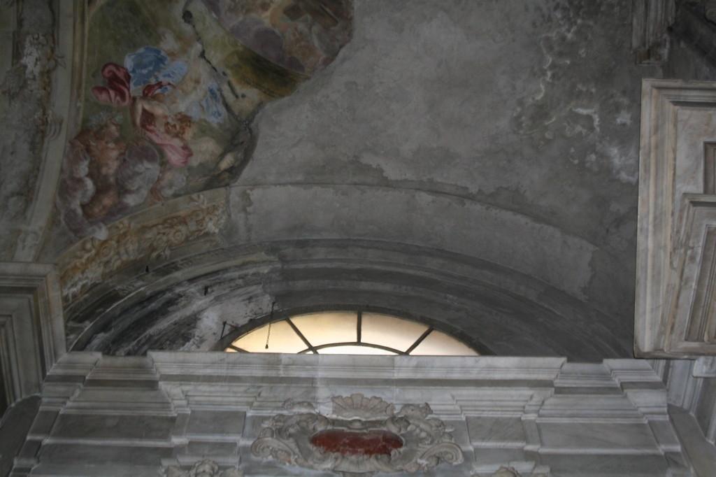 Soffitto A Volta Affrescato : Restauro stucchi e affreschi chiesa di san siro sito ufficiale di